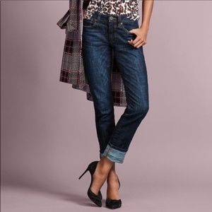 CAbi High Straight Jeans